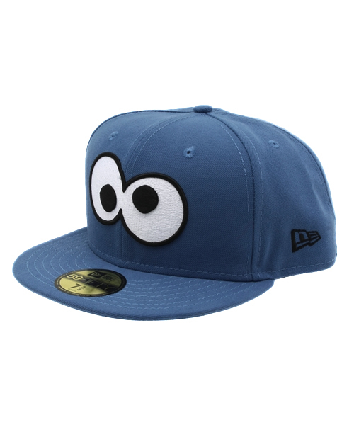 06260a73e90 NEW ERA(ニューエラ)の「NEWERA×SESAME STREET 59FIFTY SNAPBACK CAP COOKIE MONSTER  INDIGO BLUE(キャップ)」 - WEAR