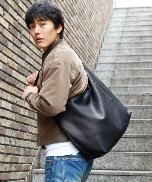 mr olive ミスターオリーブ の water proof washable leather large