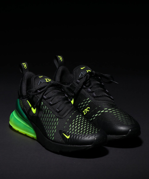 74e56a7715854 NIKE(ナイキ)の「NIKE AIR MAX 270 (BLACK VOLT-BLACK-OIL GREY) SP (スニーカー)」 - WEAR