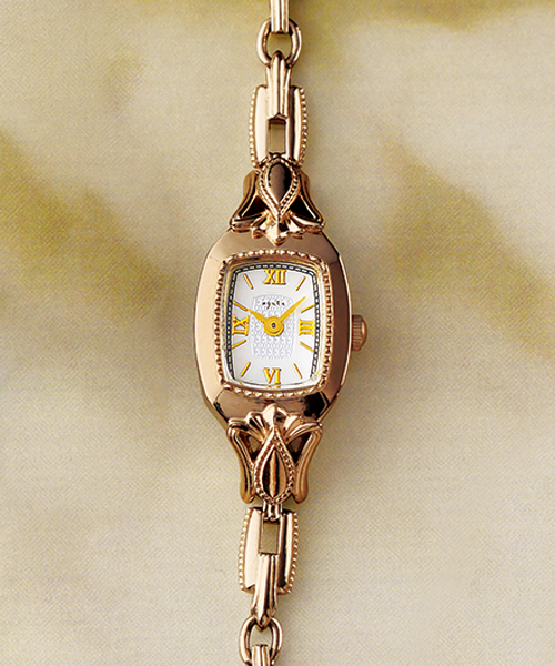 488246bf48 agete(アガット)の「スクエアフェイスジュエリーウォッチ【AGETE48YG時計】(腕時計)」 - WEAR