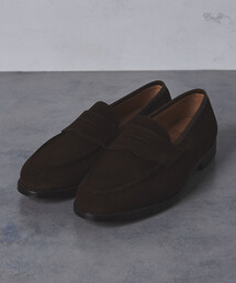 <CROCKETT&JONES(クロケット&ジョーンズ)> BOSTON2 SUEDE LOAFE