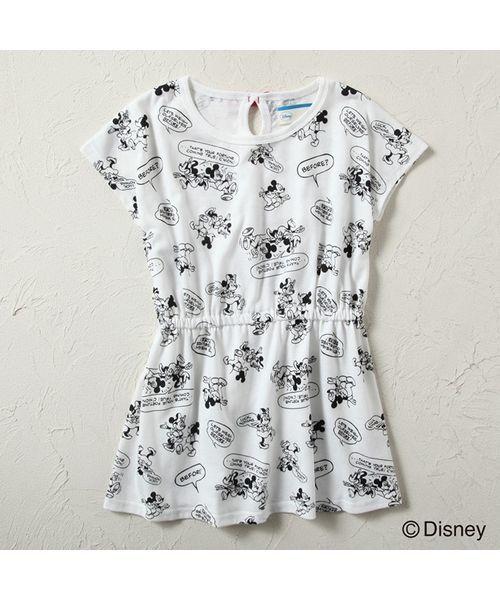 5ada0dc26dd17 Disney(ディズニー)の「 Disney(ディズニー) ミッキーミニー総柄 ...