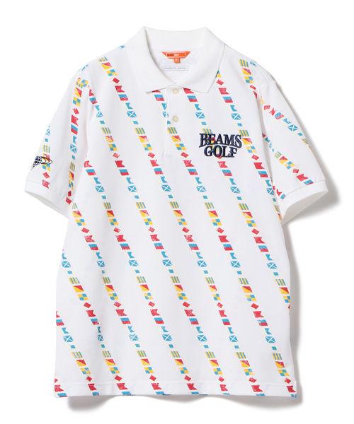 BEAMS GOLF ORANGE LABEL / 바치카루후랏구 폴로 셔츠