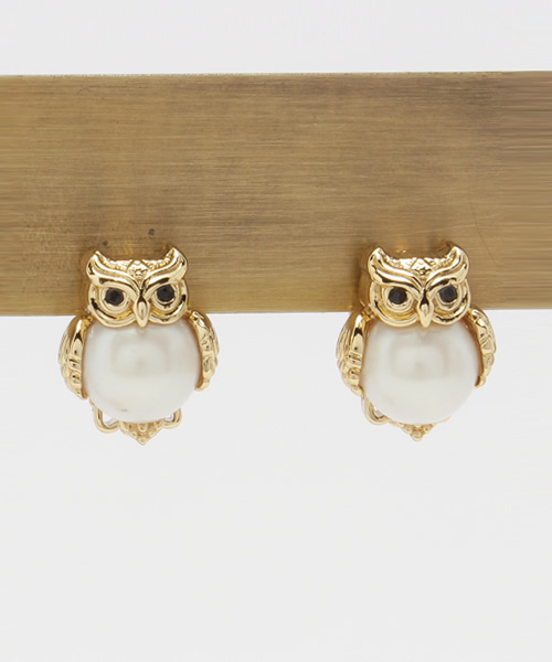 Kate Spade New York Into The Woods Owl Clip Earrings Wear