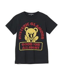 HYS BEAR STENCIL pt Tシャツ