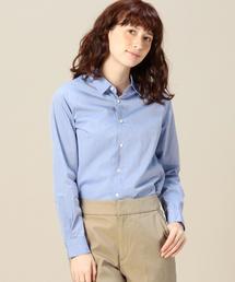 BYTU ブロードレギュラーカラーシャツ