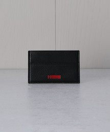 <H>LOGO LEATHER CARD CASE/カードケース ◇: