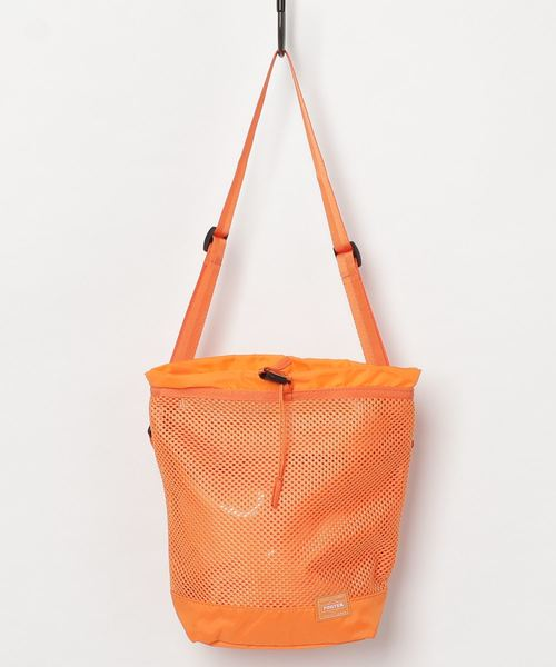 PORTER / PORTER SCREEN DRAWSTRING BAG