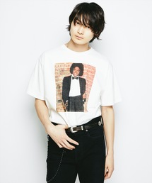 MICHAEL JACKSON/OFF THE WALL 1979 ポケ付Tシャツ