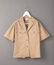 <6(ROKU)>PATCH POKET SHIRT/シャツ