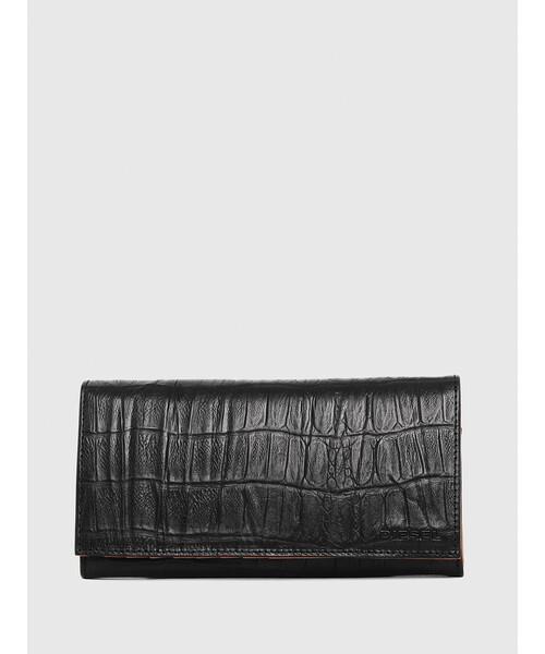 059cffe90b2b DIESEL(ディーゼル)の「メンズ 財布 長財布 型押しクロコウォレット(財布)」 - WEAR