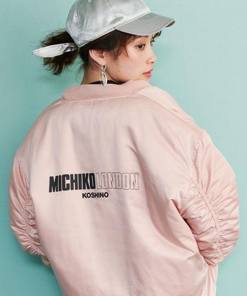 b95f83802a5e4 MICHIKO LONDON KOSHINO(ミチコ ロンドン)の「 MICHIKO LONDON KOSHINO×ViS リバーシブルMA-1(MA-1)」  - WEAR