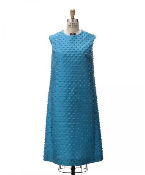 Drawer ジャカード バックリボン ドレス