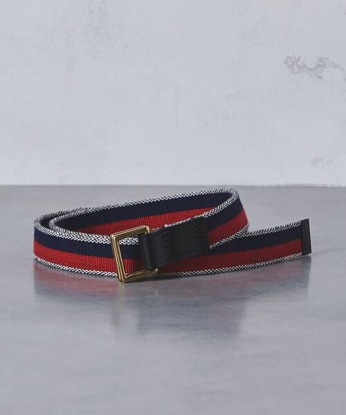 【別注】 <Whitehouse Cox(ホワイトハウスコックス)> SQ/RING BELT †