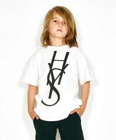 HYS LOGO pt ポケ付Tシャツ【XS/S/M】