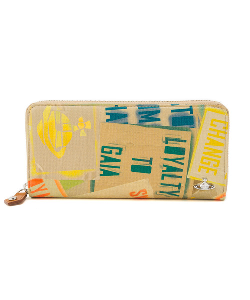 a20feb985555 Vivienne Westwood MAN(ヴィヴィアンウエストウッドマン)の「【マニュフェスト】ラウンドジップ長財布【189117  SW1113】(財布)」 - WEAR