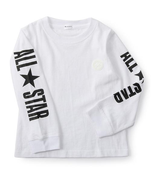 ce655c4a53de5 CONVERSE(コンバース)の「 CONVERSE 袖プリント入りロンT(Tシャツ・カットソー)」 - WEAR
