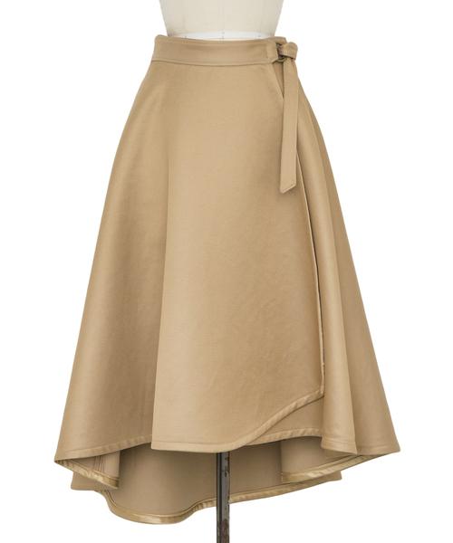 Drawer ラップフレアスカート