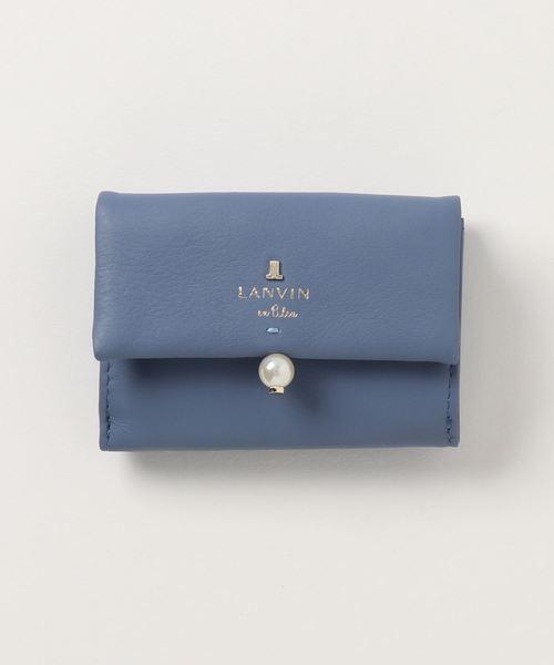 9d2ecd25382d LANVIN en Bleu(ランバンオンブルー)の「シャペル 三つ折 482014(財布)」 - WEAR