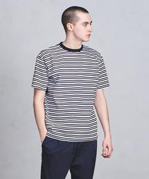 ○UASB  ボーダー Tシャツ