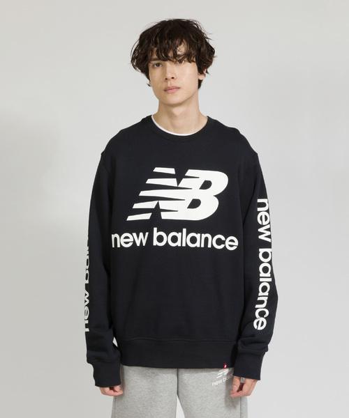 020b67888e189 New Balance(ニューバランス)の「NBロゴクルーネックスウェット(スウェット)」 - WEAR