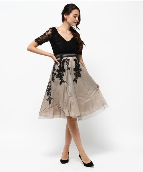 ab52459c275fd Narcissus(ナルシス)の「 TEDDY ブラックレースドレス(ドレス)」 - WEAR