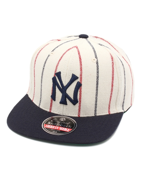 1520fc6d754ed ... american needle snapback cap cooperstown 400 1916 new york yankees white