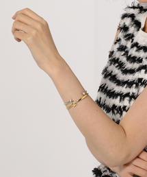 【WEB限定】◎PHILIPPE AUDIBERT STARバングル GD / Maxton Bracelet / フィリップオーディベール