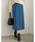 Re:EDIT(リエディ)の「ベイクドカラーピーチスキン台形スカート(スカート)」|ブルー