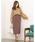 Re:EDIT(リエディ)の「ベイクドカラーピーチスキン台形スカート(スカート)」|詳細画像