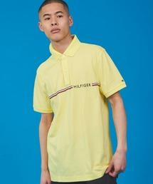 TOMMY HILFIGER(トミーヒルフィガー)のコットン ロゴ ポロシャツ(ポロシャツ)