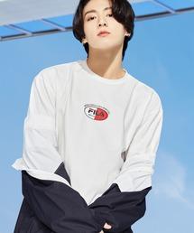 【 FILA / フィラ  】 2021SS コレクション  BTS 着用モデル Tシャツ  防弾少年団 FS0136 DWBオフホワイト
