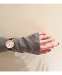ボーイフレンドウォッチ ダイヤモンド×ショコラブラウン(腕時計)