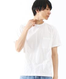 ABAHOUSE(アバハウス)のプレオーガニックコットンポケットTシャツ(Tシャツ/カットソー)