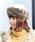 14+(イチヨンプラス)の「フェイクファーロシアントーク帽(ハット)」|ホワイト