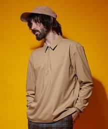 UNITED TOKYO(ユナイテッドトウキョウ)のストレッチハーフジップシャツ(シャツ/ブラウス)