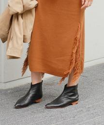 JOURNAL STANDARD relume(ジャーナルスタンダード レリューム)のRE 羊革ショートブーツ(ブーツ)