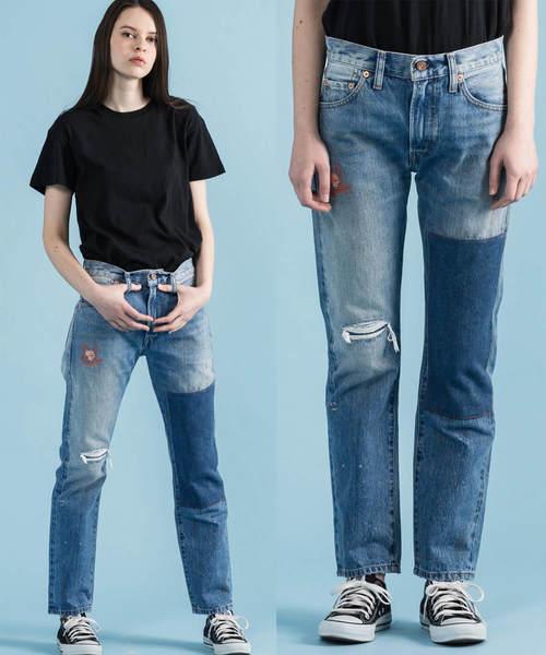 LEVI'S VINTAGE CLOTHING(リーバイスビンテージクロージング)の「LEVI'S(R) VINTAGE CLOTHING 1967モデル 505(TM) REDSTONE(デニムパンツ)」 インディゴブルー