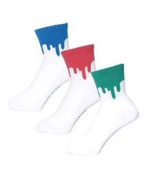 LIXTICK(リックスティック)の【LIXTICK】リックスティック DRIP SOCKS 3パックセット (6th)(ソックス/靴下)