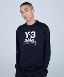 Y-3(ワイスリー)のM STACKED LOGO LS TEE(Tシャツ/カットソー)