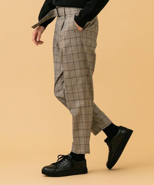 【国際ブランド】 【STUDIOUS】ベルテッドテーパードパンツver.2(スラックス) STUDIOUS(ステュディオス)のファッション通販, 人気商品の:b4bc6244 --- affiliatehacking.eu.org