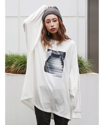 Ungrid(アングリッド)のフォトプリントロングスリーブTee(Tシャツ/カットソー)