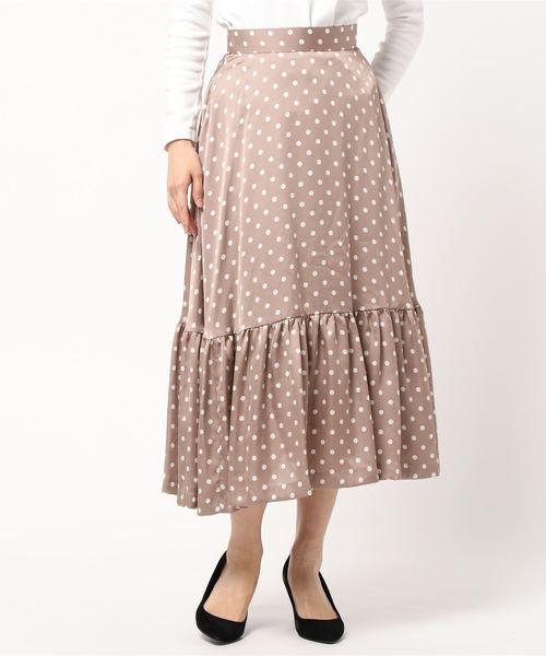 一流の品質 【2020SS】ドットプリントティアードスカート(スカート)|N.O.R.C(ノーク)のファッション通販, ヒガシクビキグン:b7d7bcd5 --- wiratourjogja.com