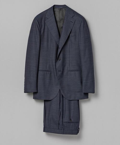 <CARUSO(カルーゾ)> ブルーメランジ 3Bスーツ AIDA