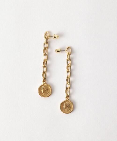<Soierie>Aging coin ピアス