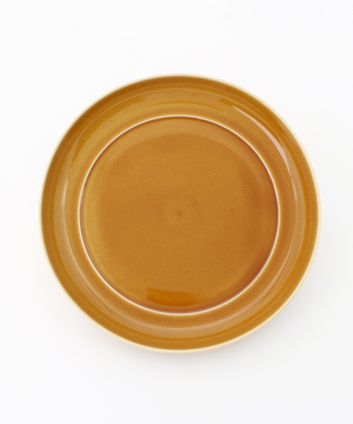 collex(コレックス)の「【瑞々】 まる皿7寸(食器)」|ブラウン