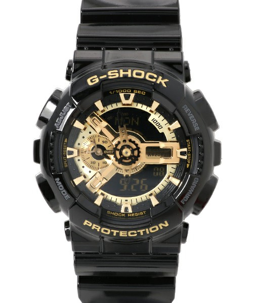 Black × Gold Series(ブラック×ゴールドシリーズ) / GA-110GB-1AJF / Gショック