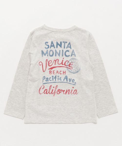 ボーイズ VENICE BEACHロゴ 長袖Tシャツ 《motherways|マザウェイズ》