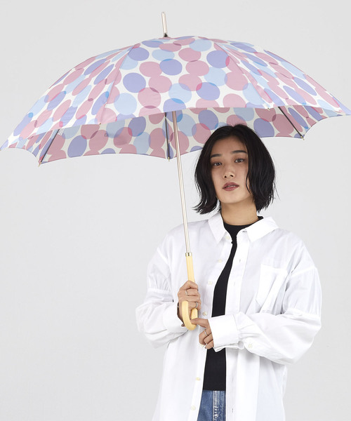 Wpc.(ダブルピーシー)の「雨傘 ムナ(長傘)」|ピンク