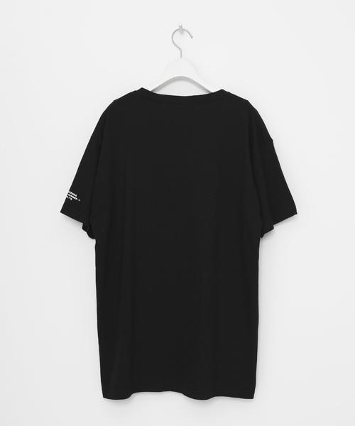 「破廉恥」ルーズシルエットクルーネックTシャツ